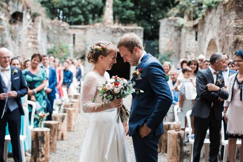 mariage couple cérémonie