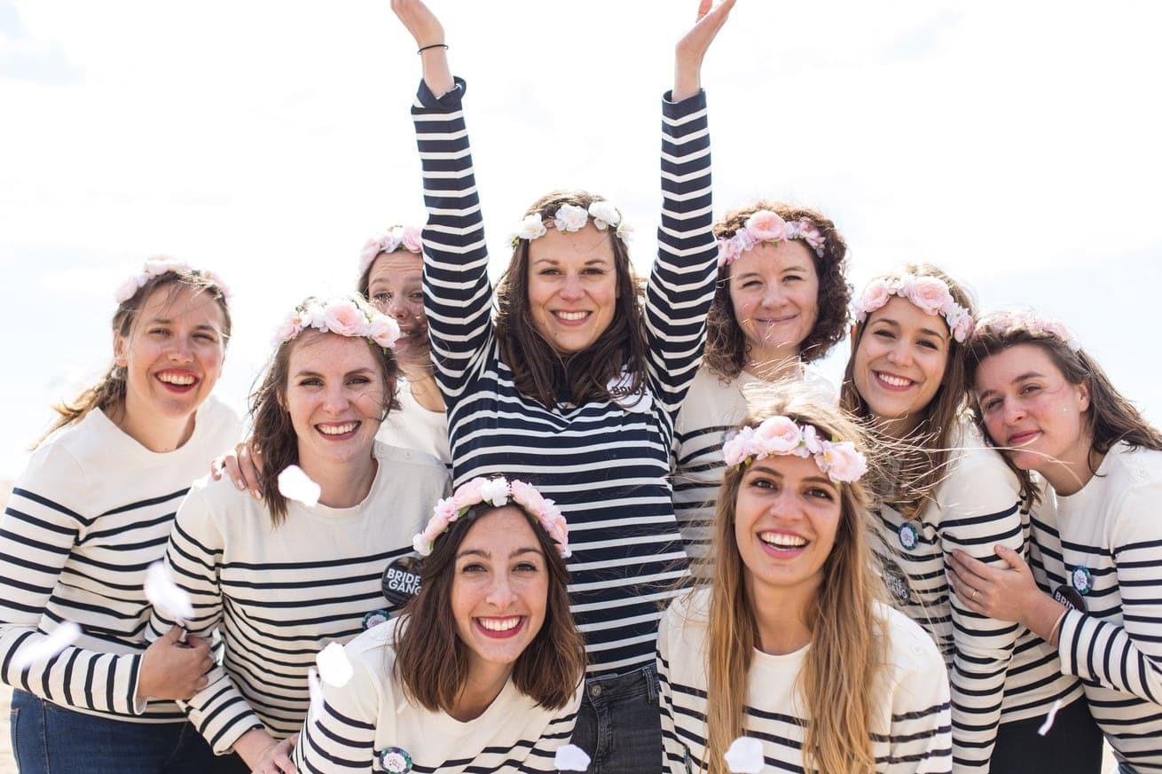 filles mariniere couronne