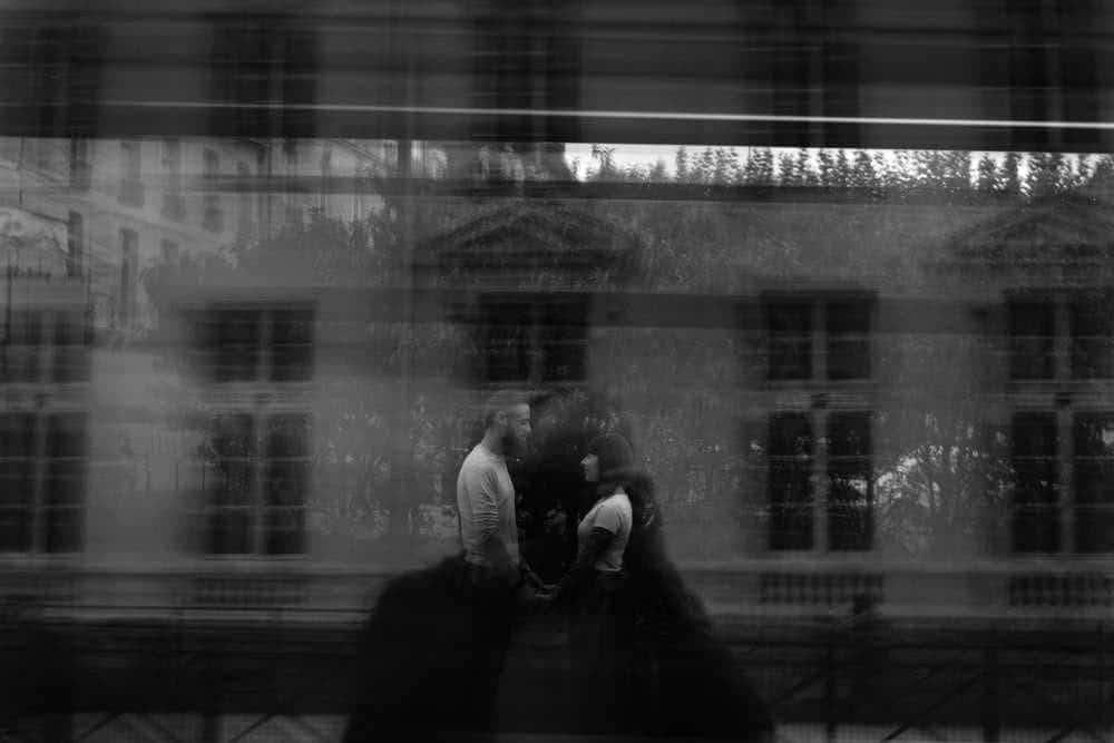 photo reflet vitre