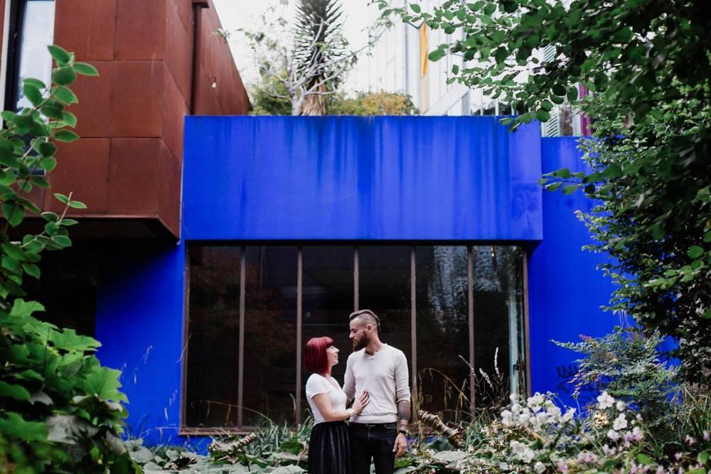 séance couple ville couleur